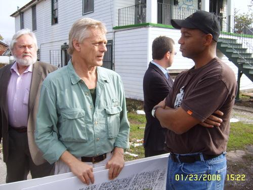 Jim and Branford, Jan. 23, 2006